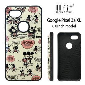 ディズニー Google Pixel 3a XL ケース ハイブリッド IIIIfit スマホケース Google Pixle3a XL キャラクター グッズ ハードケース カバー Disney ミッキーマウス ミニー レトロ かわいい | イーフィット ミッキー グーグルピクセル3axl スマホカバー ハード ミニーマウス