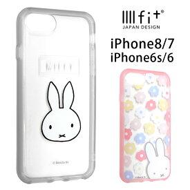 ミッフィー IIIIfit clear クリアケース iPhone8 iPhone7 ケース スマホケース クリアハイブリッド カバー おしゃれ アイフォン 8 アイホン 花柄 ハードケース iPhone8ケース | iphoneケース アイフォンケース アイフォン8 iphone se iphonese se2 第2世代 第二世代 2020