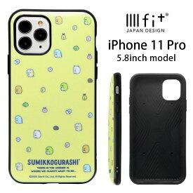 すみっコぐらし IIIIfit iPhone 11 Pro ケース すみっこぐらし ハイブリッドケース おしゃれ スマホケース キャラクター カバー ジャケット アイフォン 11Pro ぺんぎん? ねこ iPhone11Proハードケース アイホン かわいい グッズ ケース