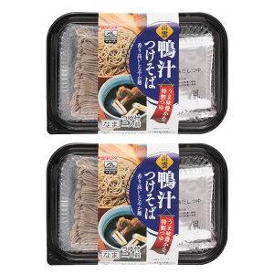 出雲 生そば 蕎麦 カモ 島根県 おみやげ [なかたか] そば 出雲 鴨汁つけそば 286g(めん100g×2)×2P