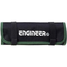 【0のつく日はポイント5倍!】 エンジニア ツールロールバッグ 工具袋 465×250×3 KSE-35 送料無料