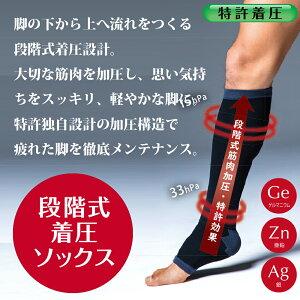 【ProtectX×島耕作】プロテクトエックスメンズオープントゥ着圧ソックス強圧サポート(膝下)