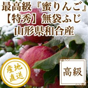 御歳暮 お歳暮 特秀 蜜入り りんご サンふじ 特選3kg箱 山形県和合産 ギフト 送料無料