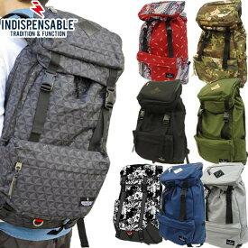 1b9744a826ed 送料無料 バックパック リュック 大容量 インディスペンサブル INDISPENSABLE リュックサック デイパック カバン バッグ