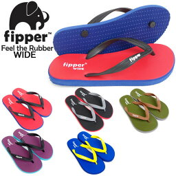 Beach sandal男子的漂亮的大人Fipper WIDE NEW karafippawaido寬度型號B太陽涼鞋最大的穿,追求感覺的最上級的天然橡膠海灘市鎮使用海遊泳池