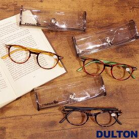 メール便 老眼鏡 おしゃれ レディース メンズ DULTON ダルトン リーディンググラス シニアグラス 女性 READING GLASSES 全3色 YGJ76 老眼 1.0 1.5 2.0 2.5 眼鏡 メガネケース付き プレゼント ギフト 父の日 母の日 敬老の日