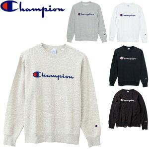 チャンピオン スウェット メンズ クルーネック 全5色 C3-H004 トレーナー スクリプトロゴ ロゴプリント ベーシック スポーツ 部屋着 アメカジ ルームウェア トップス champion CREW NECK SWEATSHIRT