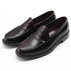 【ポイント10倍 クーポン配布中】 SARABANDE サラバンド コインローファー ビジネスシューズ 紳士靴 26.0cm 42サイズ 本革 ダークブラウン 8608-DBR-42