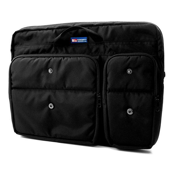 NOMADIC ノーマディック MENS BAG IN バッグインバッグ A4サイズ ブラック MB-02