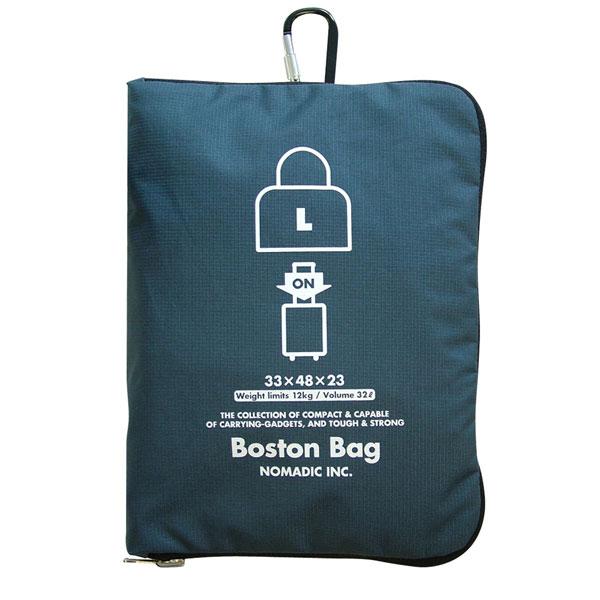 NOMADIC ノーマディック FOLDING BAG 折りたたみバッグ キャリーオン機能付き ボストンバッグ Lサイズ ネイビー FO-31-NV
