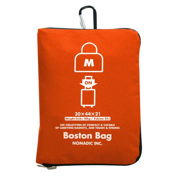 NOMADIC ノーマディック FOLDING BAG 折りたたみバッグ キャリーオン機能付き ボストンバッグ Mサイズ オレンジ FO-32-OR