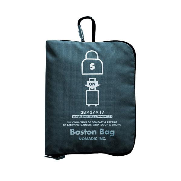 NOMADIC ノーマディック FOLDING BAG 折りたたみバッグ キャリーオン機能付き ボストンバッグ Sサイズ ネイビー FO-33-NV