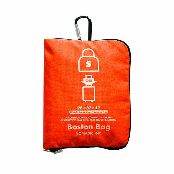 NOMADIC ノーマディック FOLDING BAG 折りたたみバッグ キャリーオン機能付き ボストンバッグ Sサイズ オレンジ FO-33-OR