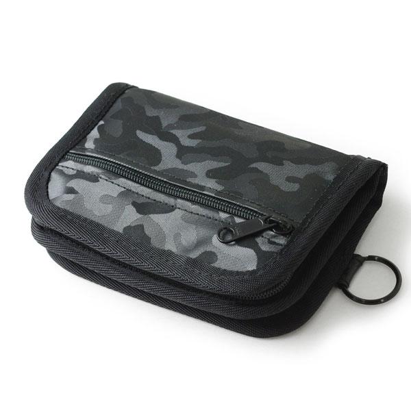 NOMADIC ノーマディック Accordion Fold Wallet 二つ折り ジャバラ ナイロン ウォレット 財布 ブラック PA-13-BK