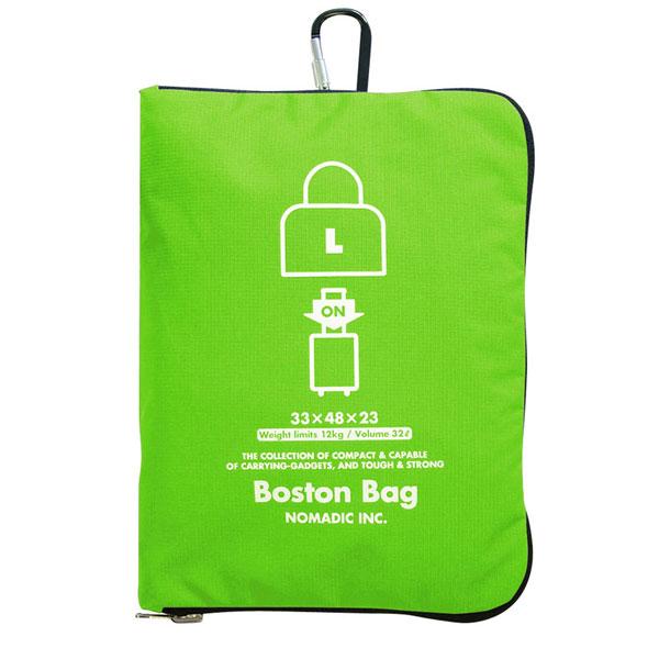 NOMADIC ノーマディック Folding Bag 折りたたみバッグ キャリーオン機能付き ボストンバッグ Lサイズ グリーン FO-31-GR