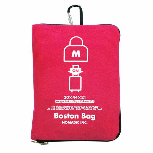 NOMADIC ノーマディック Folding Bag 折りたたみバッグ キャリーオン機能付き ボストンバッグ Mサイズ ピンク FO-32-PK
