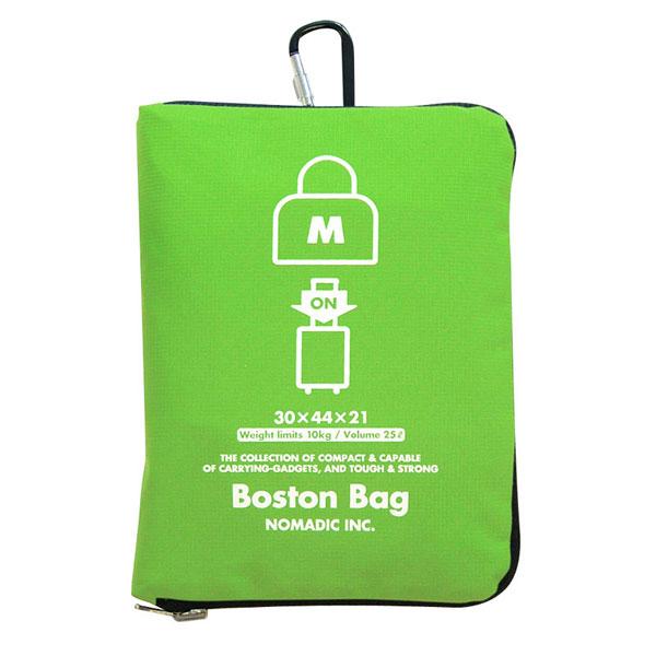 NOMADIC ノーマディック Folding Bag 折りたたみバッグ キャリーオン機能付き ボストンバッグ Mサイズ グリーン FO-32-GR