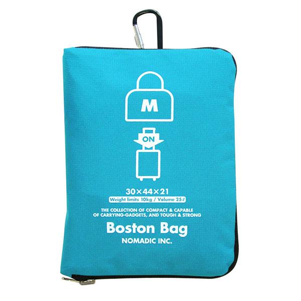 NOMADIC ノーマディック Folding Bag 折りたたみバッグ キャリーオン機能付き ボストンバッグ Mサイズ スカイ FO-32-SK