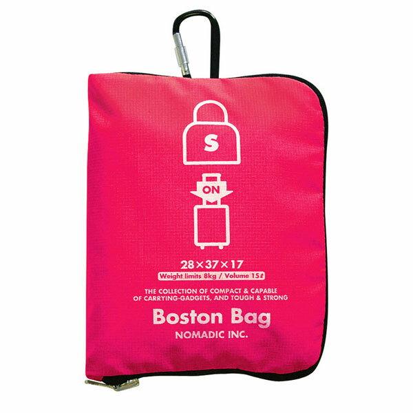 NOMADIC ノーマディック Folding Bag 折りたたみバッグ キャリーオン機能付き ボストンバッグ Sサイズ ピンク FO-33-PK