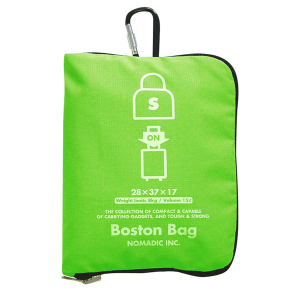NOMADIC ノーマディック Folding Bag 折りたたみバッグ キャリーオン機能付き ボストンバッグ Sサイズ グリーン FO-33-GR
