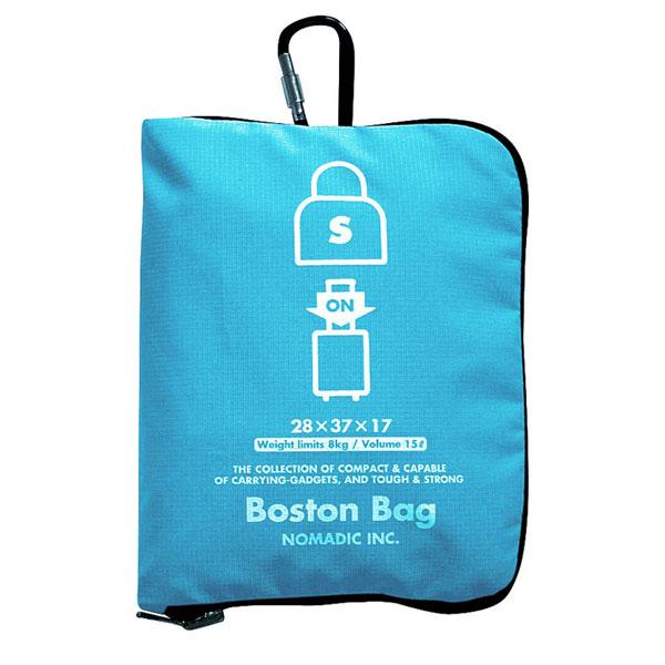 NOMADIC ノーマディック Folding Bag 折りたたみバッグ キャリーオン機能付き ボストンバッグ Sサイズ スカイ FO-33-SK