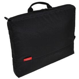 【全商品ポイント10倍 クーポン配布中】 MANHATTAN PASSAGE マンハッタンパッセージ 横型 バッグインバッグ ポータブル インナーバッグ A4サイズ ブラック #IB-A4201-BK