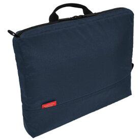 【全商品ポイント10倍 クーポン配布中】 MANHATTAN PASSAGE マンハッタンパッセージ 横型 バッグインバッグ ポータブル インナーバッグ A4サイズ ミッドナイトブルー #IB-A4201-MB