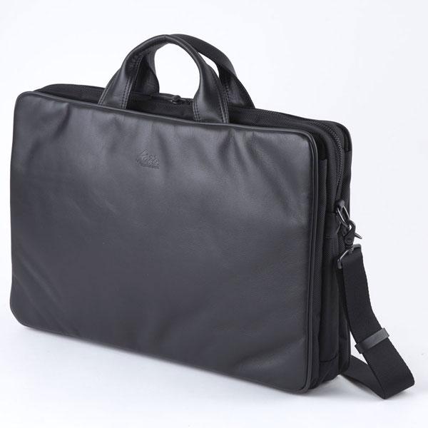 【ポイント10倍 クーポン配布中】 LuggageAOKI 青木鞄 GAZA LOAM ガザ 本革 B4サイズ ソフト ブリーフケース 6123-10