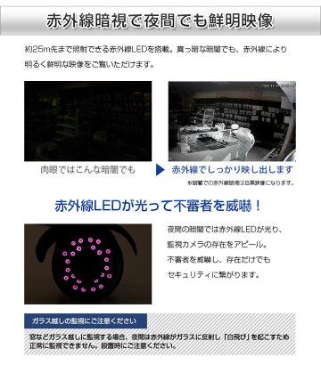 【16ch】防犯カメラ監視カメラ[録画機+52万画素選べるカメラ16台セット]モーション検知[防水暗視広角]スマホAndroid屋内屋外遠隔監視[1年保証]エースACE