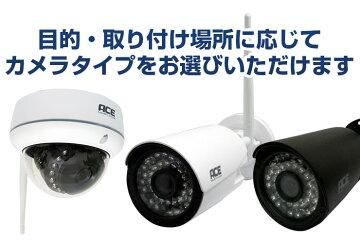防犯カメラ【NVR録画機専用】[200万画素(H.265+)]無線IPカメラ単品追加用【リピーター機能で通信距離3倍】ワイヤレス屋内・屋外用WiFi無線監視カメラネットワークカメラ
