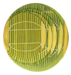 神堂 竹のたより 和せいろ用 せいろすだれ丸型(9寸用) 1枚