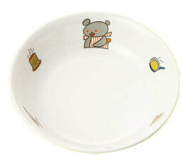 国際化工 マルケイ 12cm丸深皿 D62 KO こぐまちゃん メラミン食器