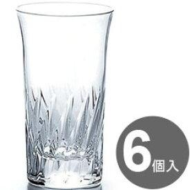 東洋佐々木ガラス グラス ナックフェザー 細5タンブラー 120cc T-20108HS-2 6個入