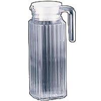 アルコロック Arcoroc【ガラス製】 クワドロピッチャー(ウォーターポット) 冷蔵庫用ピッチャー1.1L 23541
