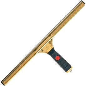山崎産業 窓用清掃用品 プロテック グラススクイジー 真鍮 グリップ付き 400 C75-1-040X-MB