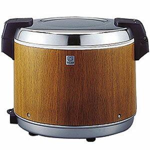タイガー 業務用電子ジャー 炊きたて 2升2合(2.2升) JHA-4000 保温専用 木目(MO)
