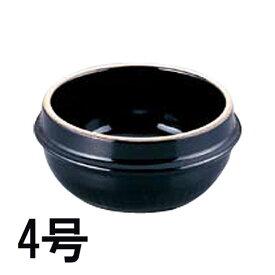 チゲ用 韓国式土鍋 トゥッペギ 4号 16cm