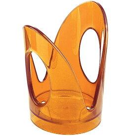 guzzini グッチーニ アクリル ペーパーカップホルダー 6Pセット 230200 45 オレンジ