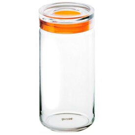 guzzini グッチーニ ガラスジャー(スパゲティジャー) 1900cc 285531 45 オレンジ