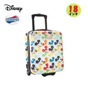 アメリカンツーリスター ディズニー ミッキーマウス Mickey Mouseトランク キャリーバッグ スーツケース18インチ 1個 旅行 レジャー お出掛け