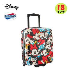 アメリカンツーリスター ディズニー ミニーマウス Minnie Mouseトランク キャリーバッグ スーツケース18インチ 1個 旅行 レジャー お出掛け
