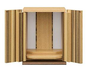 白井産業 仏壇 モダン 約幅30 奥行26 高さ37.4 cm こもれび KRB-4030D NA