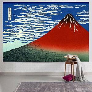 おしゃれなタペストリー和風 壁掛け クールジャパン飾り用品 家飾り富士山 (Multi-3)