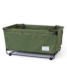 b.c.l スタッキングボックス +キャスター オリーブ W53×D35×H28cm キャンプ アウトドア サイドテーブル オシャレ 127974
