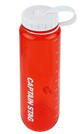 キャプテンスタッグ(CAPTAIN STAG) 水筒 ボトル スポーツボトル ウォーターボトル 1000ml 直飲み ライス目盛り付き 6合 レッド UE-3398