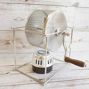 cotta 手動コーヒー豆焙煎機 シルバー 16.2×21.2×14.5cm 87795