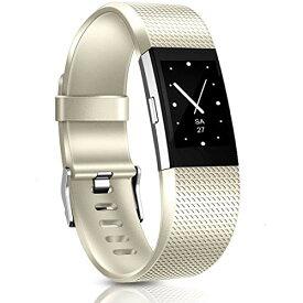 バンド for Fitbit Charge 2 交換ベルト TPU素材 調整可能 多色選択 柔らかい運動バンド 対応 Fitbit Charge 2