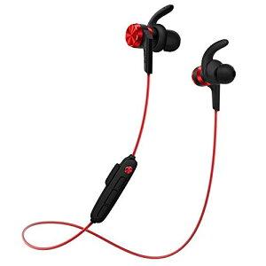1 MORE IBFree ワイヤレス イヤホン USB充電式 Bluetooth 4.2 スポーツ インイヤーホン ヘッドセット IPX6対応 滑り止め IPhone/Android/IPadなどに対応 E1018BT (レッド)