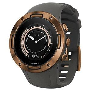 SUUNTO 5 軽量 コンパクト GPS スポーツウォッチ 24/7 アクティビティトラッキング 手首ベースの心拍数 グラファイト/銅