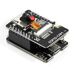 DiyStudio ESP32-CAM WiFi Bluetoothデュアルモード開発ボード、Arduino用ESP32 2MPカメラモジュールOV2640 低電力デュアルコア32ビットLX6 CPU、CH340GチップUSB-TTLシリアル変換アダプターモジュール付き サポートマニュアルと自動ダウンロード、ネットワーク機能...